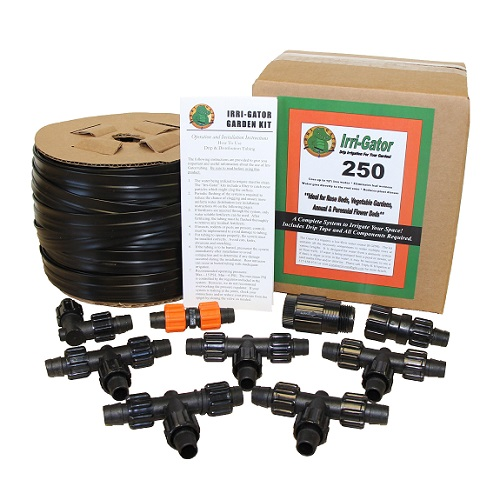 Gator 250 Drip Irrigation Kit, Gator 250, Drip Kit, Gator Kit, Drip Irrigation Kit, Garden Drip Kit